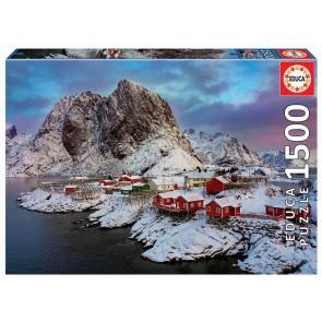 Educa Lofoten Islands, Norway Jigsaw Puzzle