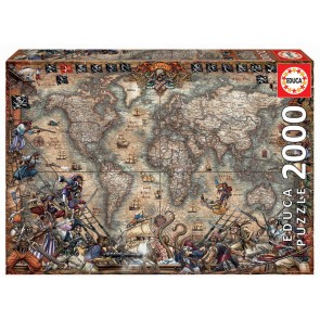 Educa Pirates Map Jigsaw Puzzle