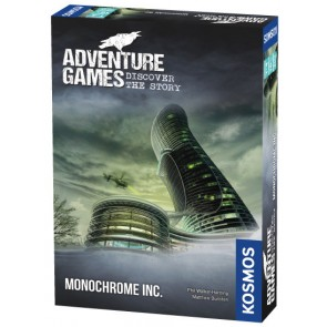 Adventure Games - Monochrome Inc