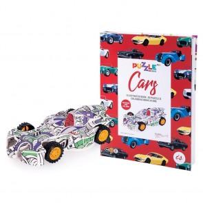 Puzzle Books - Cars