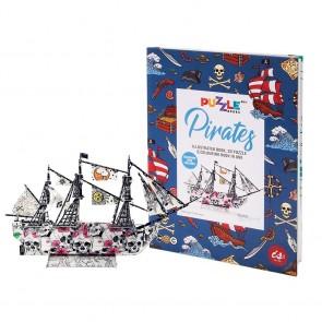 Puzzle Books - Pirates