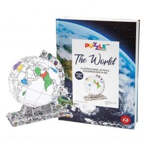 Puzzle Books - The World