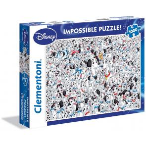Clementoni Disney Puzzle 101 Dalmatians Impossible Jigsaw Puzzle