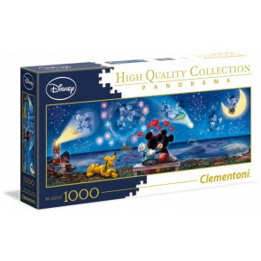 Clementoni Disney Puzzle Mickey and Minnie Panorama Jigsaw Puzzle