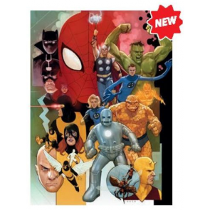 Clementoni Disney Puzzle Marvel 80th Anniversary Impossible Jigsaw Puzzle