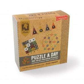 Rubik Puzzle A Day Desk Block