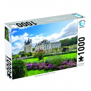 Puzzlers World Chenonceau Castle, France Jigsaw Puzzle