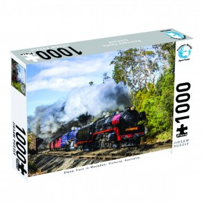 Puzzlers World Steam Train, Victoria Jigsaw Puzzle