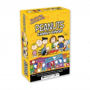 Aquarius Peanuts Family Bingo