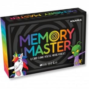Aquarius Memory Master Card Game - Original Edition