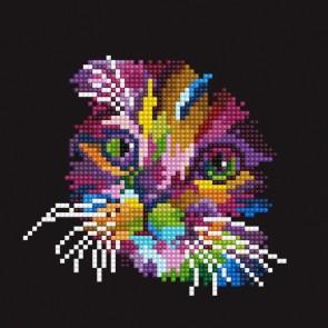 Diamond Dotz Diamond Art - Colored Cat Kit