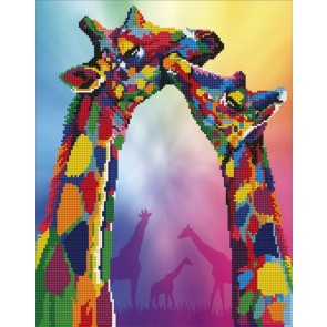 Diamond Dotz Diamond Art - Giraffe Kit