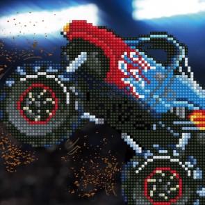 Diamond Dotz Diamond Art - Monster Truck Kit