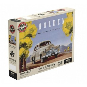 Holden - She's a Beauty - 48-215 Holden 1948 Jigsaw Puzzle