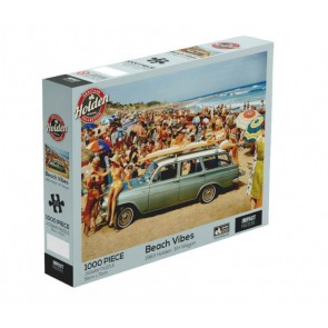 Holden - Beach Vibes - EH Holden Wagon 1964 Jigsaw Puzzle