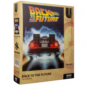 Uvault - Back to the Future - The Delorean Jigsaw Puzzle