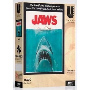 Uvault - Jaws - One Sheet Jigsaw Puzzle