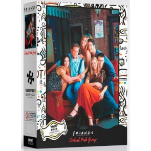 Friends - Central Perk Group Jigsaw Puzzle