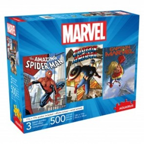 Aquarius Marvel Jigsaw Puzzle Set of 3