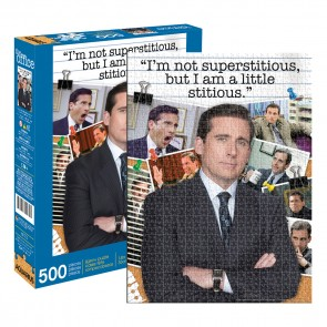 Aquarius The Office - Michael Scott Quote Jigsaw Puzzle