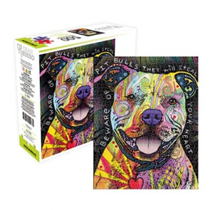 Dean Russo - Pit Bull Jigsaw Puzzle