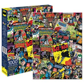 DC Comics Batman Retro Collage Jigsaw Puzzle