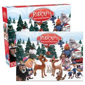 Aquarius Rudolph - Cast Jigsaw Puzzle
