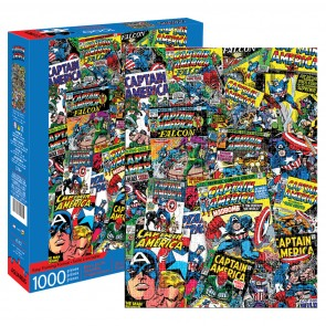 Marvel - Captain America Collage Jigsaw Puzzle