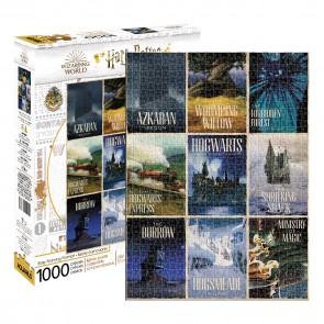 Aquarius Harry Potter - Travel Posters Jigsaw Puzzle