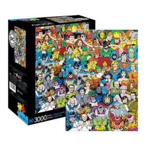 DC Comics - Retro Cast Jigsaw Puzzle