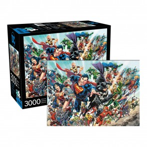 Aquarius DC Comics Cast Jigsaw Puzzle