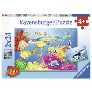 Colorful Underwater World Puzzle