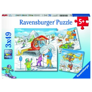 Let's Go Skiing! Puzzle
