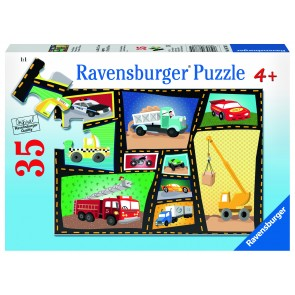 Rburg - Engines & Tires 35pc Puzzle
