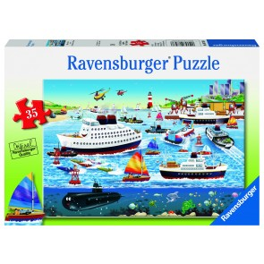 Rburg - Happy Harbor Puzzle 35pc