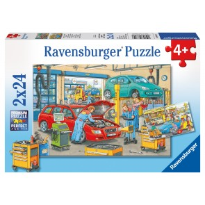 Rburg - At the Service Station Puzzle 2x24pc