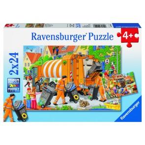 Rburg - Trash Removal Puzzle 2x24pc