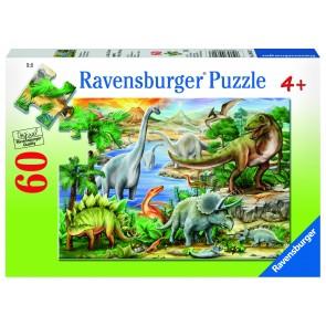 Rburg - Prehistoric Life 60pc Puzzle