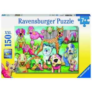 Rburg - Patchwork Pups Puzzle 150pc