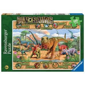 Rburg - Dinosaurs Puzzle 100pc