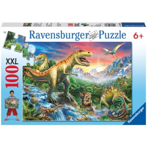 Rburg - Time of the Dinosaurs Puzzle 100pc