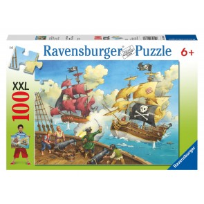Rburg - Pirate Battle Puzzle 100pc