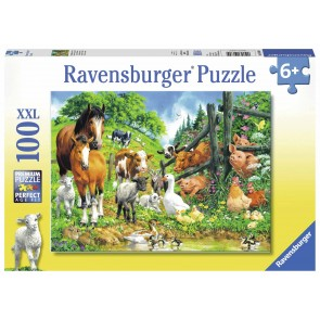 Animal Get Together Puzzle