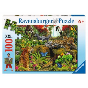 Rburg - Wild Jungle Puzzle 100pc