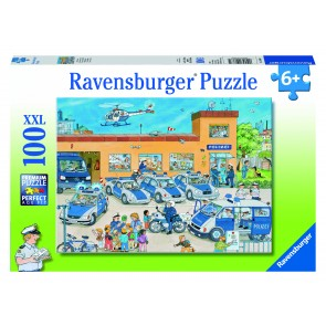 Rburg - Police District Puzzle 100pc