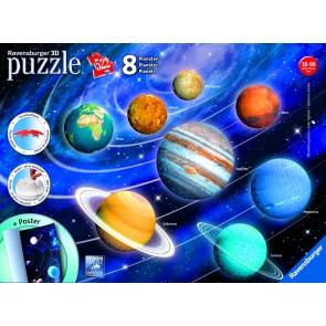 Solar System 8 Planets 3D Puzzle