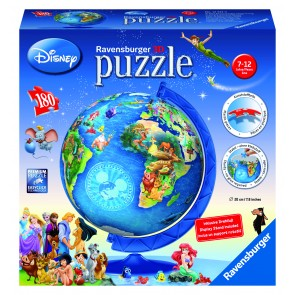 Rburg - Disney Globe 3D Puzzleball 180pc