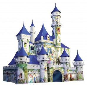 Disney Princesses Castle 3D Puzzles