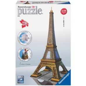 Rburg - Eiffel Tower 3D Puzzle 216pc
