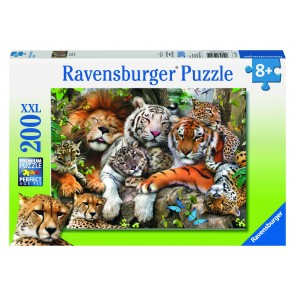 Rburg - Big Cat Nap Puzzle 200pc